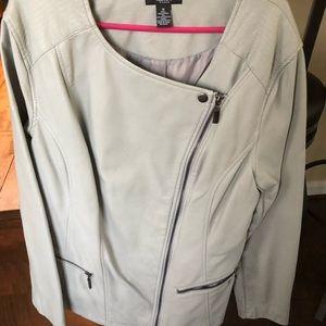 Alfani silver jacket brand new